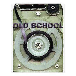 Old School Retro 8 Track Cassette Tape Letterhead