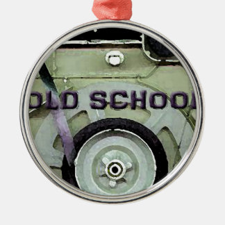 Old School Retro 8 Track Cassette Tape Metal Ornament