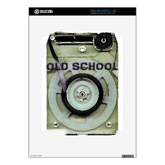 Old School Retro 8 Track Cassette Tape Skins For The iPad 2
