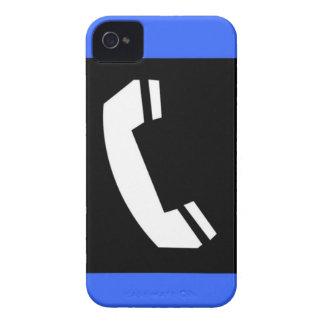 Old school retro telephone phone symbol graphic Case-Mate iPhone 4 case
