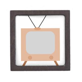 old school retro TV set Jewelry Box