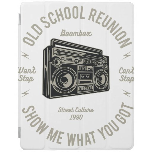 Old school reunion music iPad smart cover