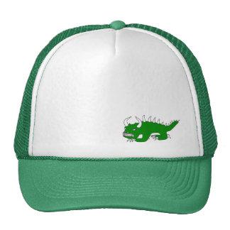 Old School Rhinelander Wisconsin Hodag Hat