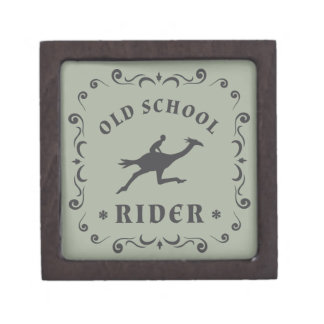 Old School Rider Stamp Gift Box