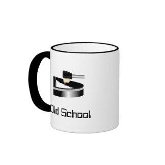 Old School Ringer Coffee Mug