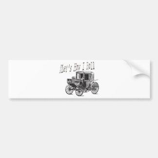 Old School Rollin #2 Car Bumper Sticker