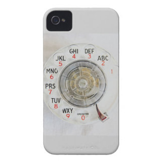 Old School Rotary Dial iPhone Case-Mate Case Cell iPhone 4 Covers
