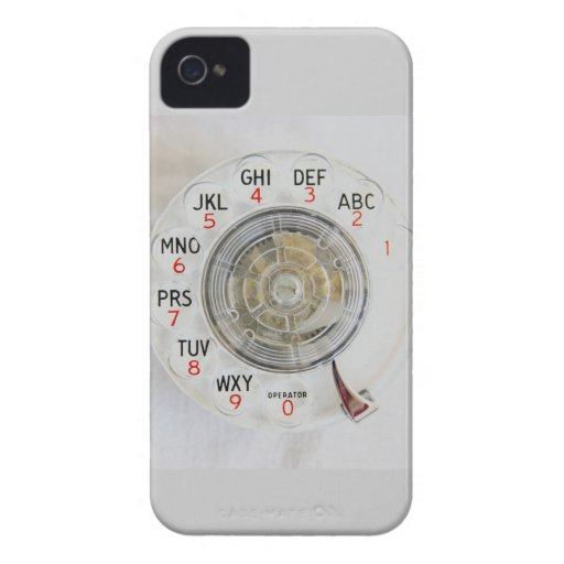 Old School Rotary Dial iPhone Case-Mate Case Cell