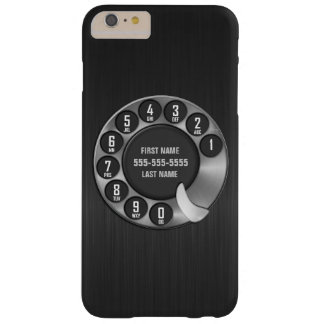Old School Rotary Dial Phone Barely There iPhone 6 Plus Case