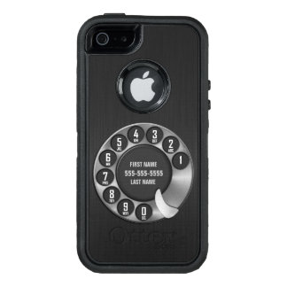 Old School Rotary Dial Phone OtterBox iPhone 5/5s/SE Case