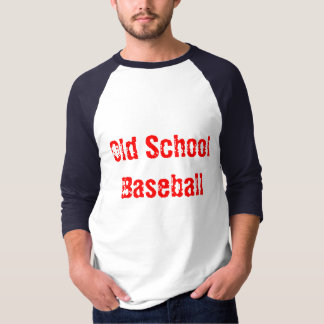 Old School (Royal/Red) T-Shirt