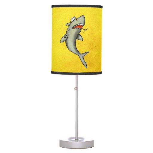 old school sailor shark desk lamp zazzle. Black Bedroom Furniture Sets. Home Design Ideas