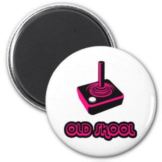Old School Skool Gamer Joystick Video Controller Magnet