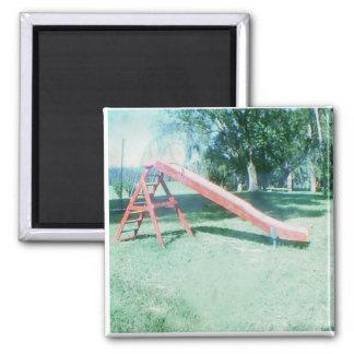 old school slide magnet