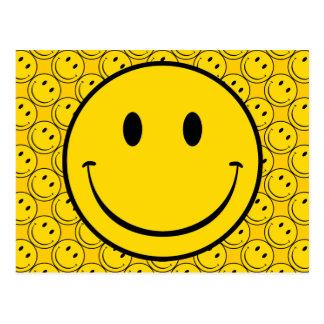 Old School Smiley Postcard