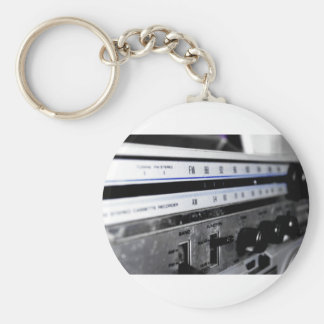 Old School Stereo Key Chain