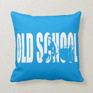 Old School Strength (Body building Motivation) Pillow
