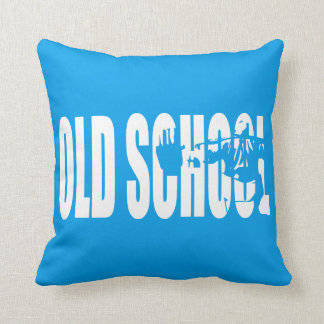 Old School Strength (Body building Motivation) Throw Pillow