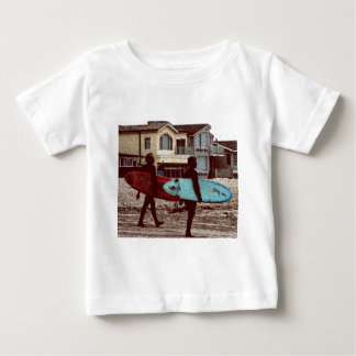 Old School Surfers Baby T-Shirt