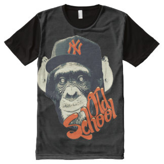Old school swag monkey All-Over print shirt
