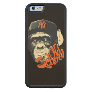 Old school swag monkey carved® maple iPhone 6 bumper