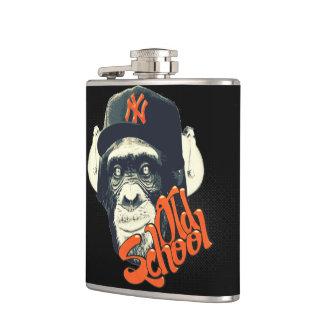 Old school swag monkey flask