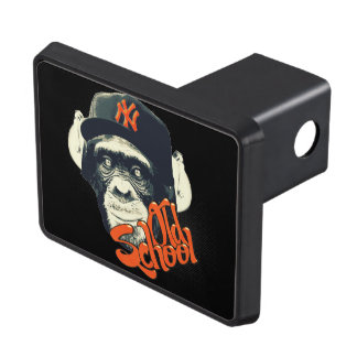 Old school swag monkey trailer hitch covers