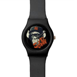 Old school swag monkey wristwatch