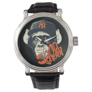 Old school swag monkey wrist watch