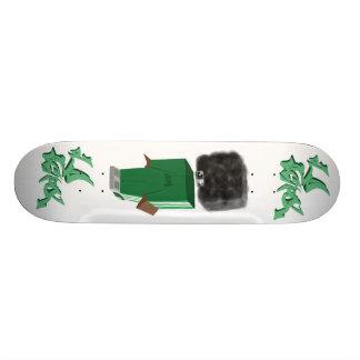 old school table skateboard deck