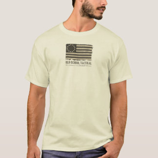 Old-School Tactical: Coyote Tan T-Shirt