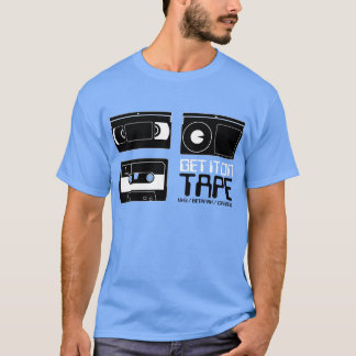 Old School Tape Tech T Shirt