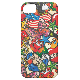 Old School Tattoo Cell Phone Cover Case
