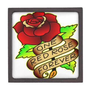 Old School Tattoo Rose Gift Box