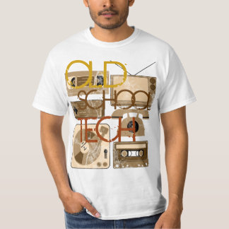 Old School Tech Sepia 80s T-Shirts