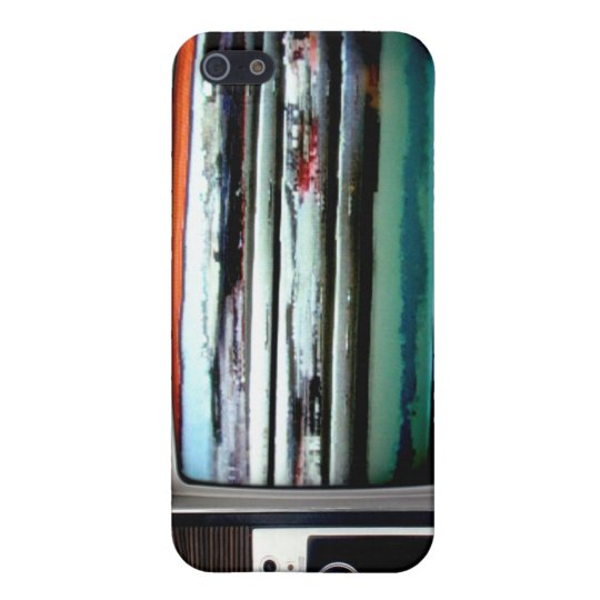Old School Television iPhone SE/5/5s Case
