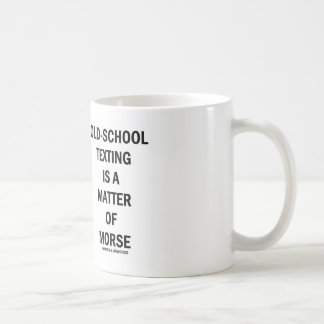 Old-School Texting Is A Matter Of Morse Mugs