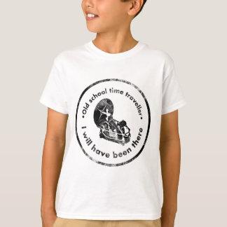 Old School time Traveller T-Shirt