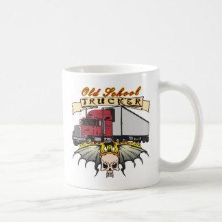 Old School Truck Driver Coffee Mug