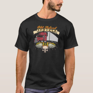 Old School Truck Driver T-Shirt