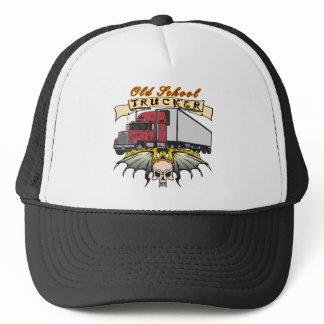 Old School Truck Driver Trucker Hat