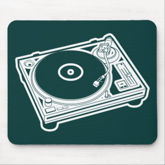 Old School Turntable Mouse Pad