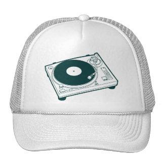 Old School Turntable Trucker Hat