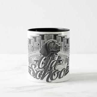 Old School Two-Tone Coffee Mug
