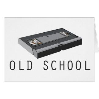 Old School VHS Card