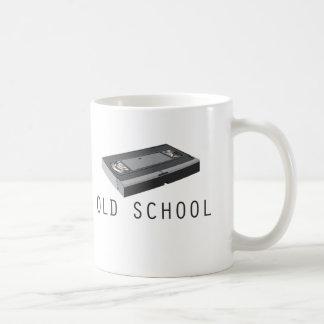 Old School VHS Classic White Coffee Mug