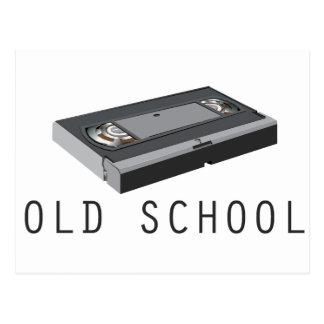 Old School VHS Postcard