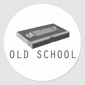 Old School VHS Stickers