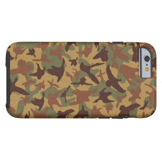 Old School Vintage Duck Hunting Camo Case