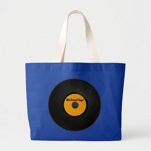Old School Vinyl tote bag